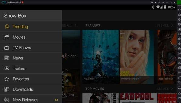 Showbox-nox-app-player