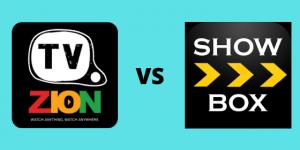 TVzion vs Showbox
